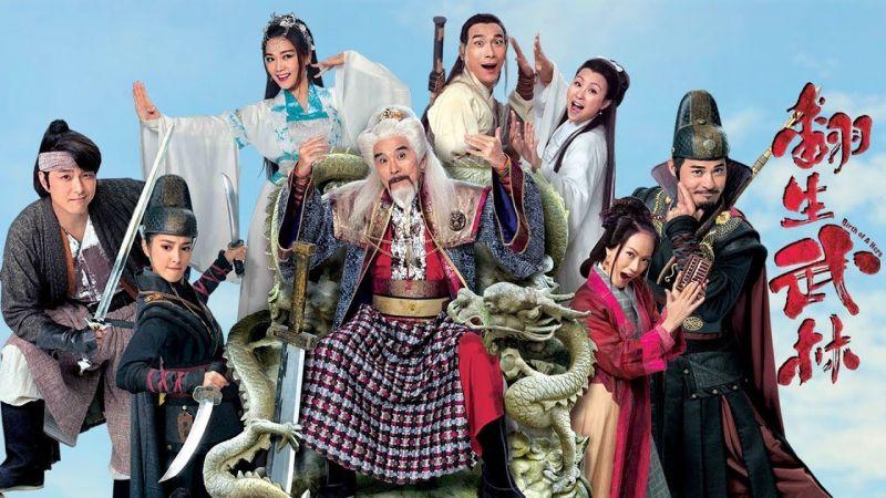 Phim kiếm hiệp Hồng Kông không thể bỏ qua